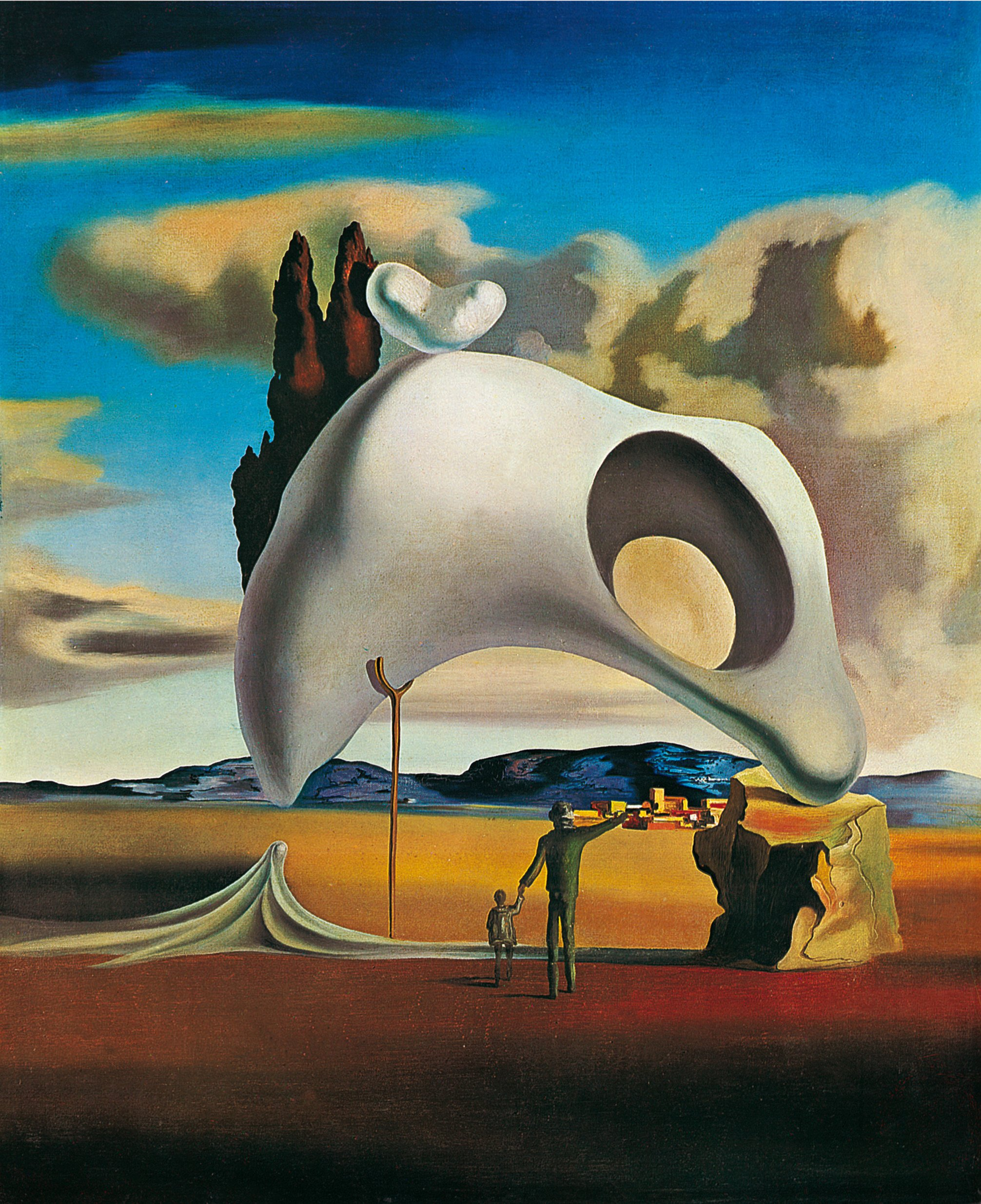 Très salvador dali painting - Happycart.co LC46