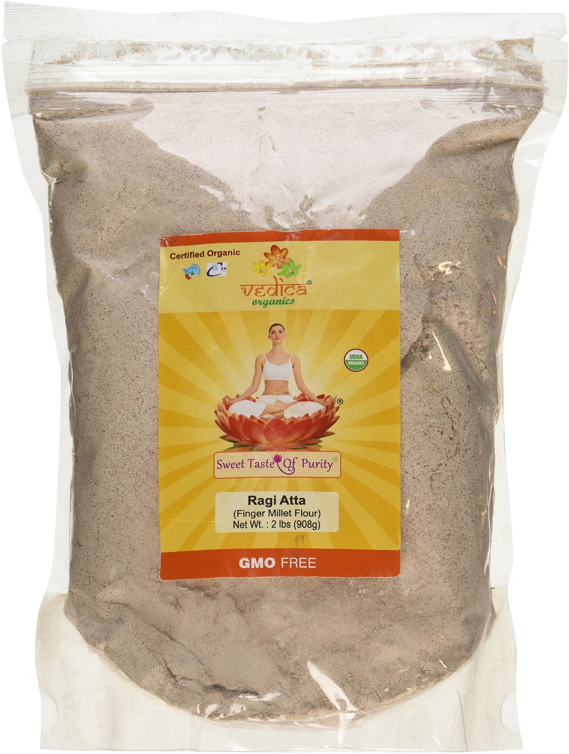 Amazon.com : Organic Finger Millet Flour (Ragi) - 2 Lbs