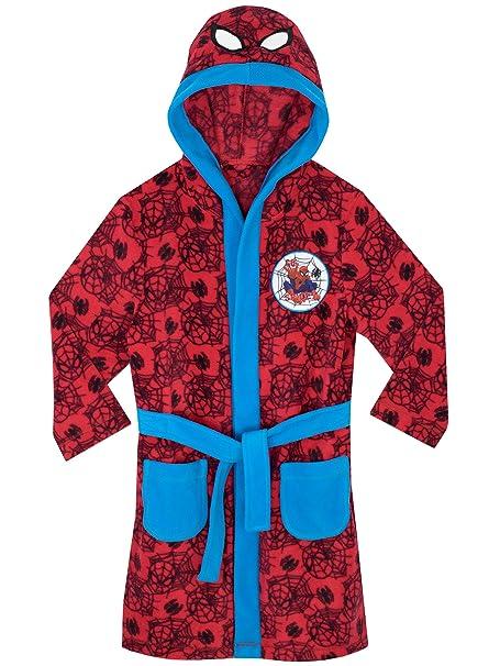 d3d18222d Spiderman El Hombre Araña - Bata para niños  Amazon.es  Ropa y accesorios