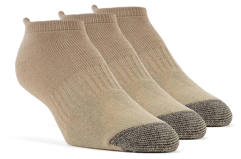 3 Pairs YolBer Boys Cotton Super Soft Crew Cushion Socks