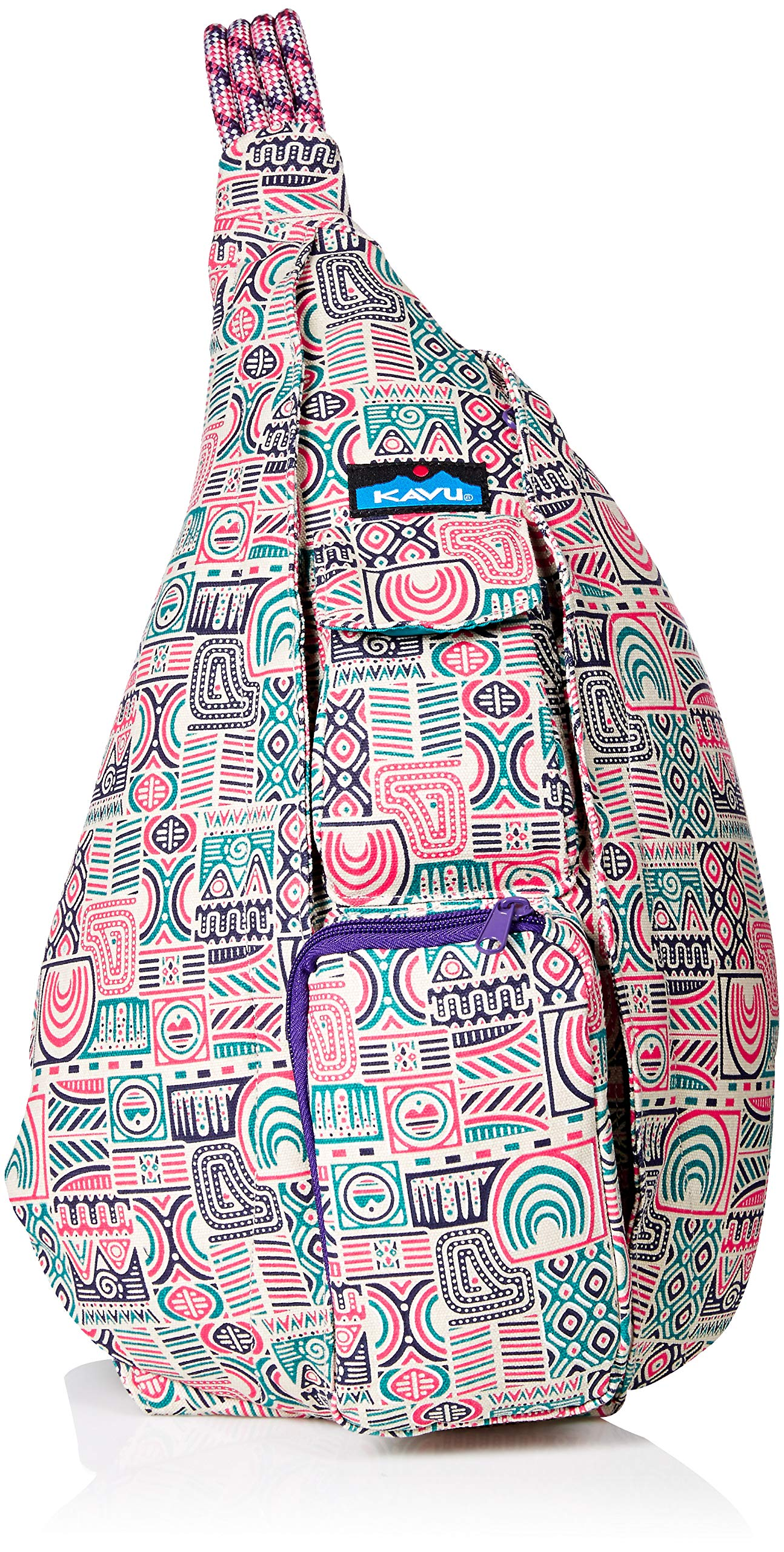 KAVU Women's Rope Bag Outdoor Backpacks, One Size, Patchadoodle