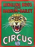 CIRCUS RINGLING BROS BARNUM BAILEY SHOW JAGUAR CAT ART PRINT POSTER BB7705