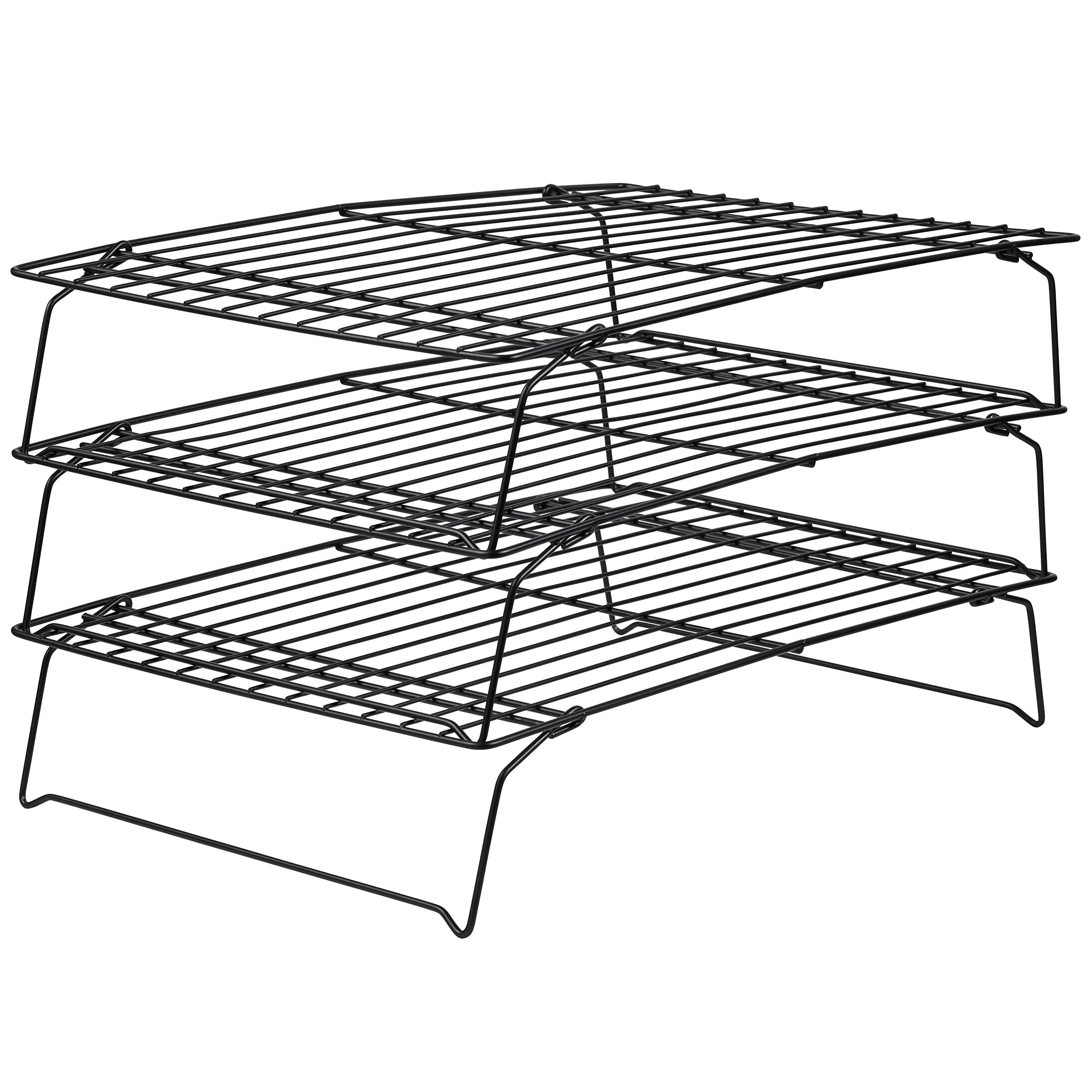 Wilton Rejilla para Enfriar repostería, 3 Niveles, Aluminio, Negro, Centimeters product image