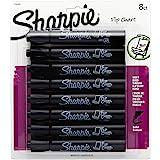 Sharpie 1760445 Flip Chart Marker, Black, 8-Pack