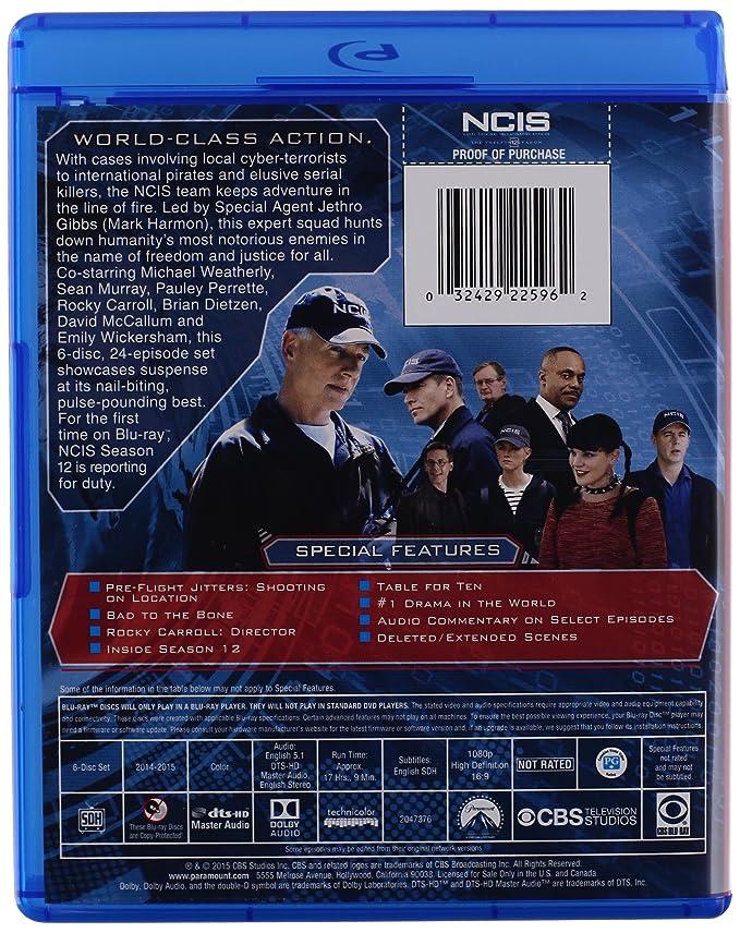 Ncis Season 12 Blu Ray Import Amazon Dvd