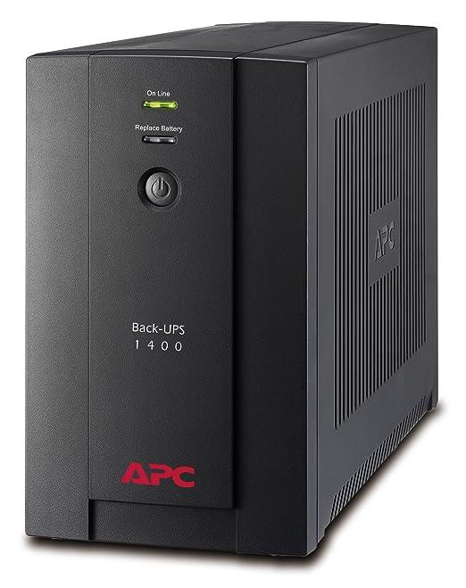 760 opinioni per APC Back-UPS BX Gruppo di continuità 1400VA BX1400UI- AVR, 6 uscite IEC-C13,