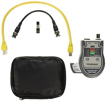 Triplett CTX200 Gris comprobador de cables de red - Probador de cable de red (9 V): Amazon.es: Informática