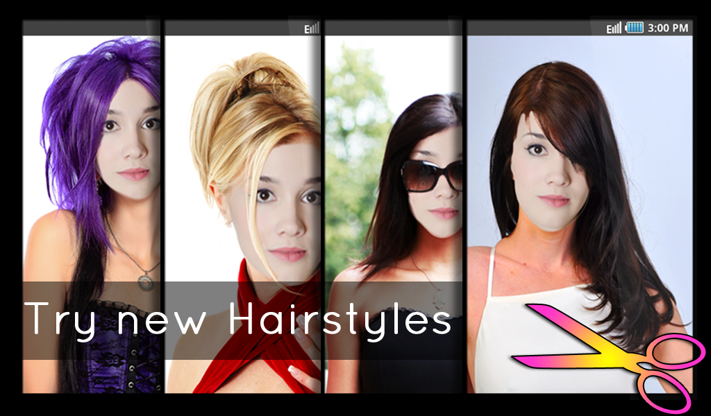 Beautiful See Hairstyles On Yourself For Free Contemporary - Styles ...