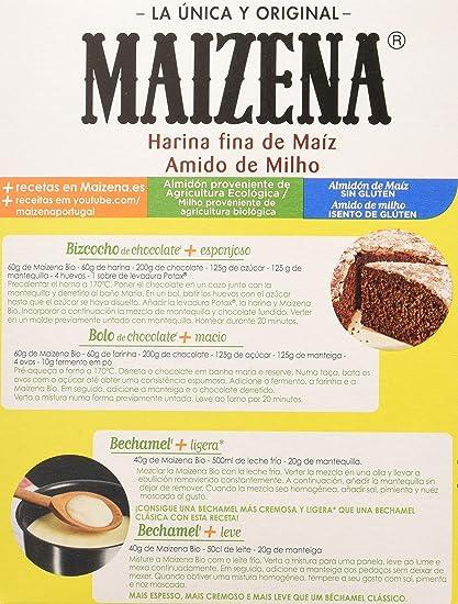 Maizena - Harina de maíz Bio - 200 g: Amazon.es: Alimentación y ...