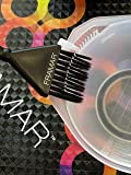 Framar Color Bowl with Brush Cleaner Set - Mixing