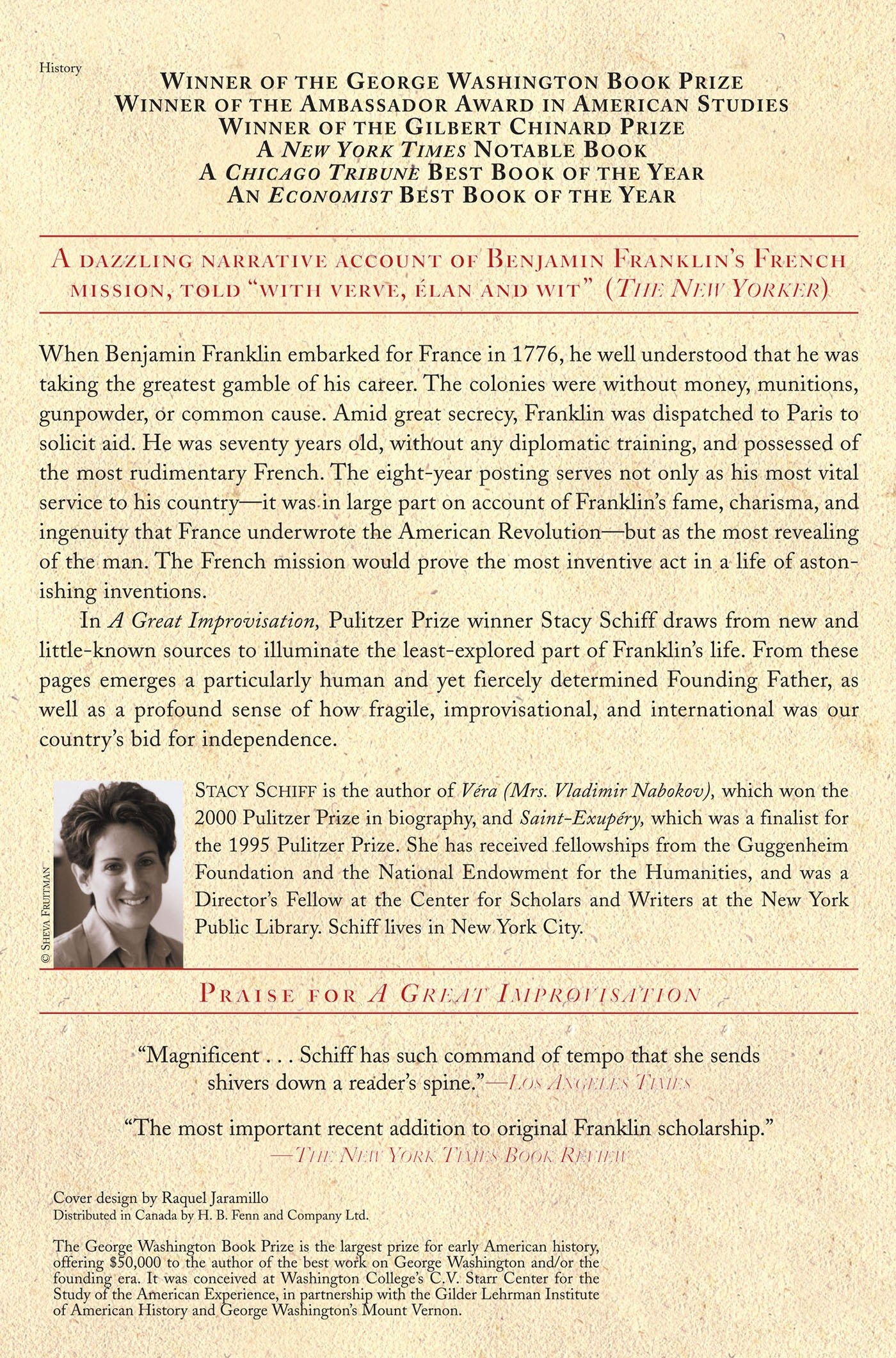 Amazon: A Great Improvisation: Franklin, France, And The Birth Of  America (9780805080094): Stacy Schiff: Books