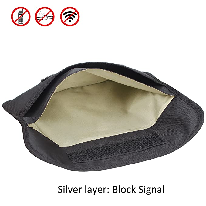 Amazon.com: Faraday Bag, Wisdompro funda tipo cartera con ...
