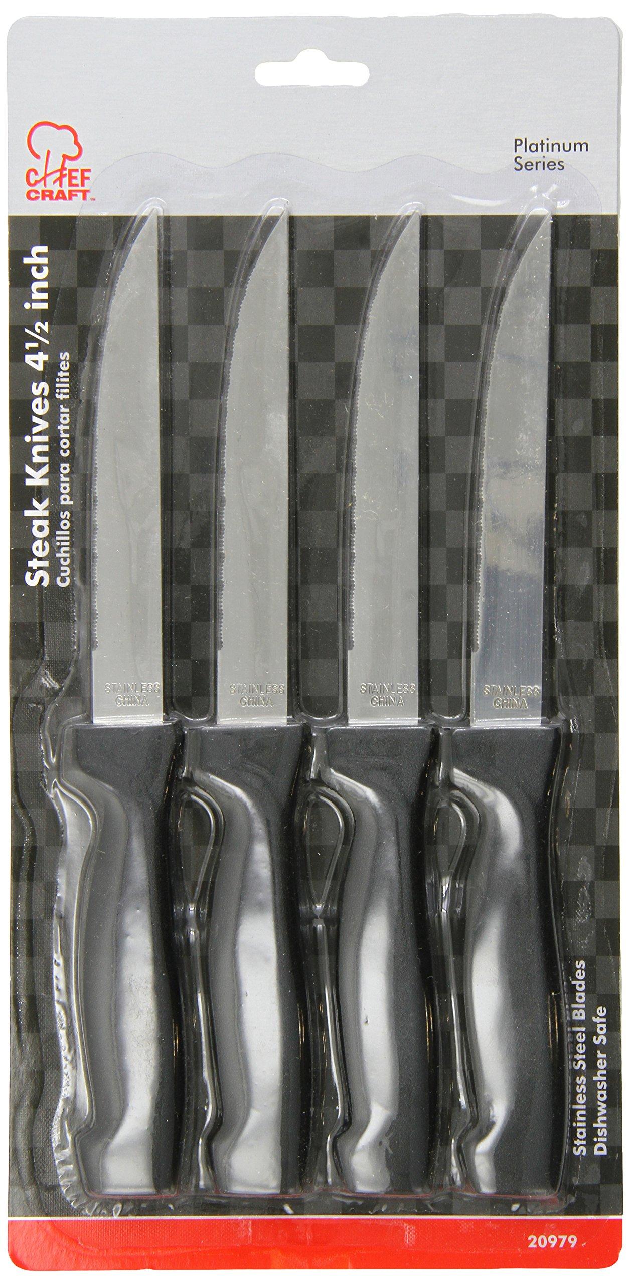 Chef Craft Steak Knife Sets (Pack of 12)