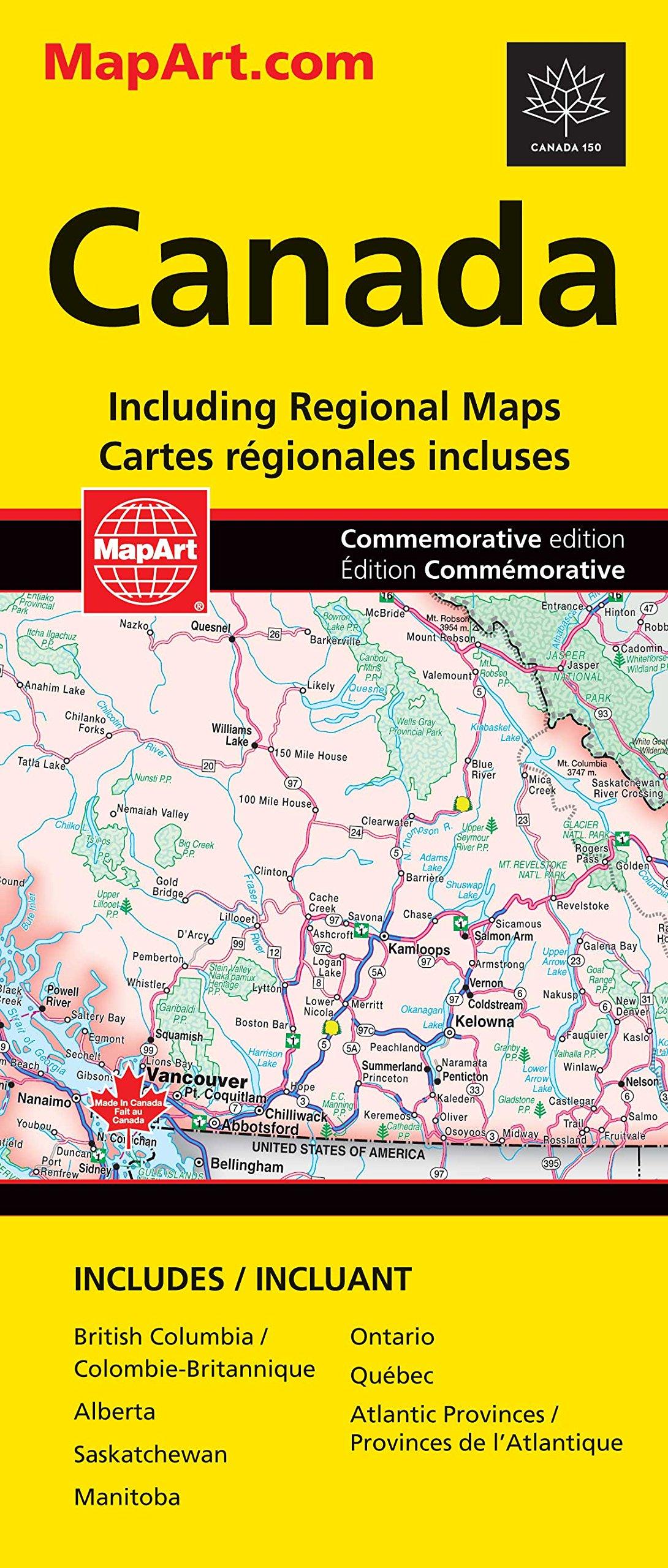 Canada Road Map Canada Road Map (ROAD MAPS): Canadian Cartographics Corporation