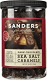 Sanders Dark Chocolate Sea Salt Caramels 36 Ounce Container
