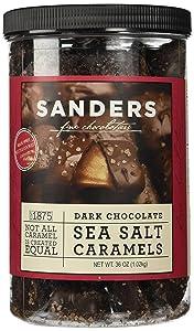 Sanders Dark Chocolate Sea Salt Caramels - 36 ounces (2.25 pounds)