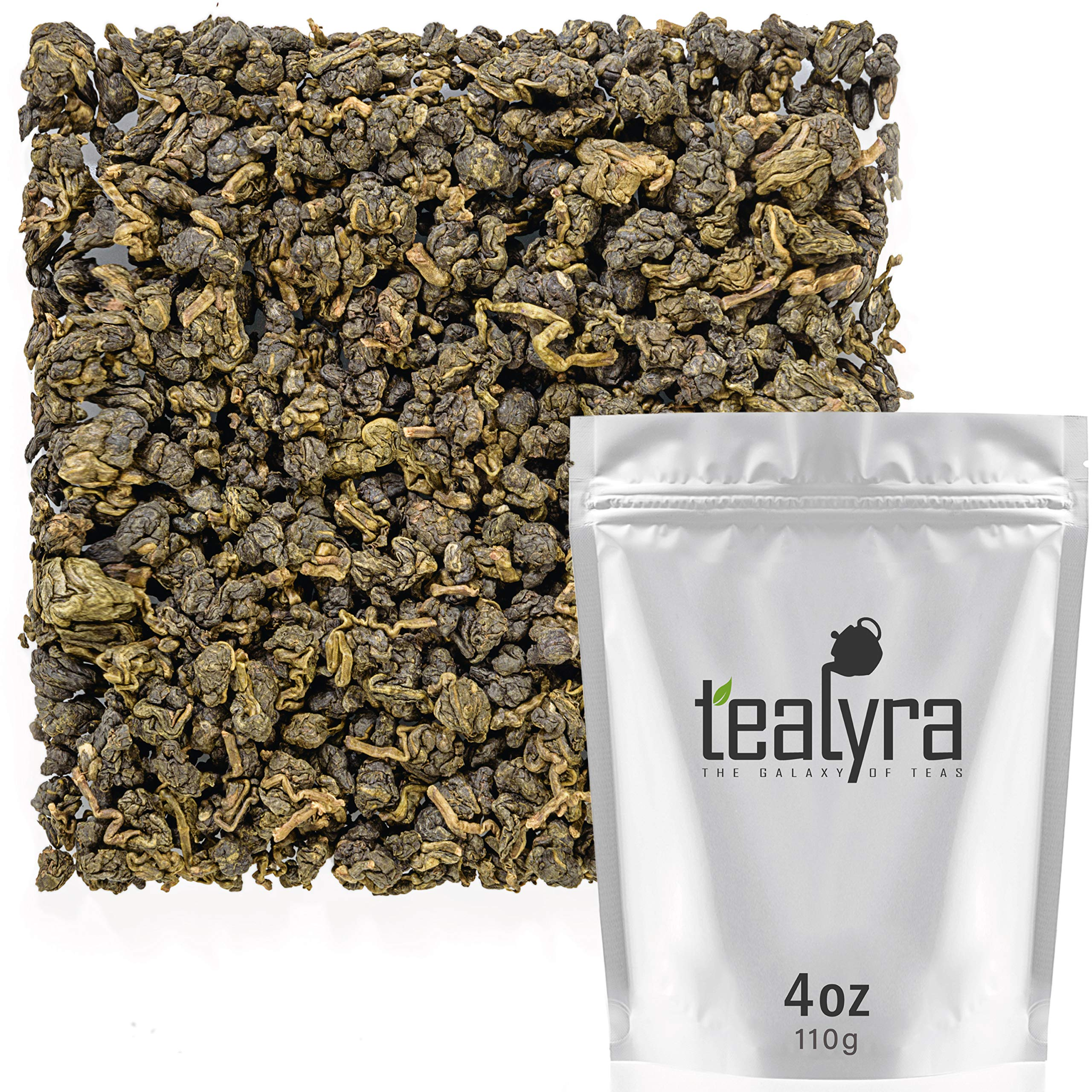 Tealyra - Ginseng Oolong Premium - Best Taiwanese Oolong - Loose Leaf Tea - Healthy - Digest and Energy Tea -Medium Caffeine - 110g (4-ounce) by Tealyra