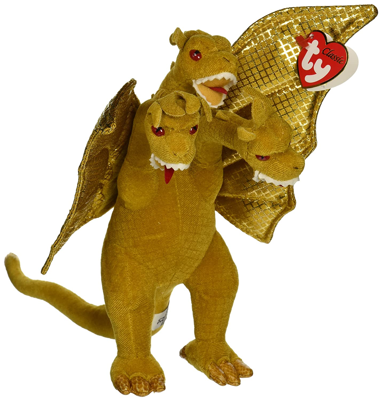 Amazon.com  Godzilla King Ghidorah Beanie Babies ~9