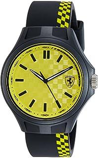 chronograph choice ferrari s bhp ebay yellow day men race watch red of or
