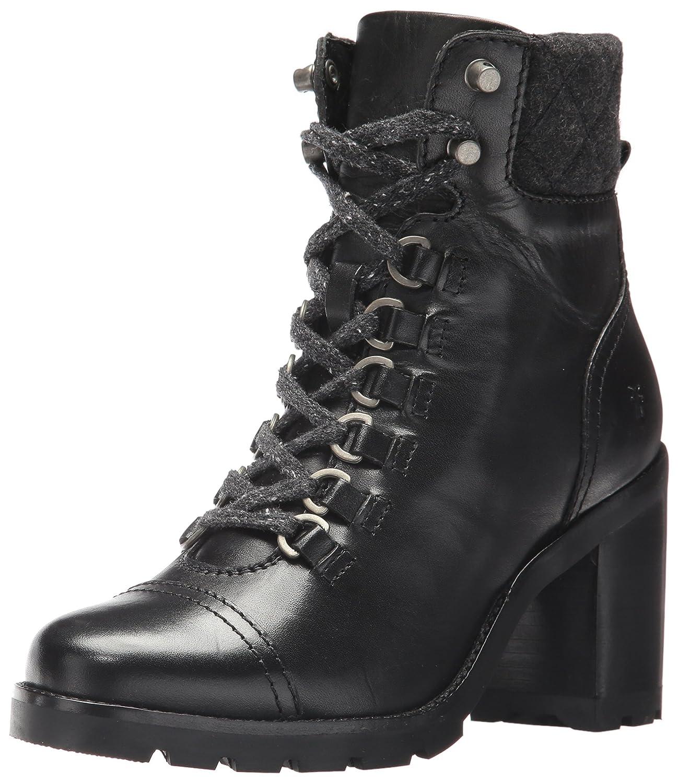 FRYE Women's Addie Hiker Ankle Bootie B01MYGZQ98 6.5 B(M) US|Black