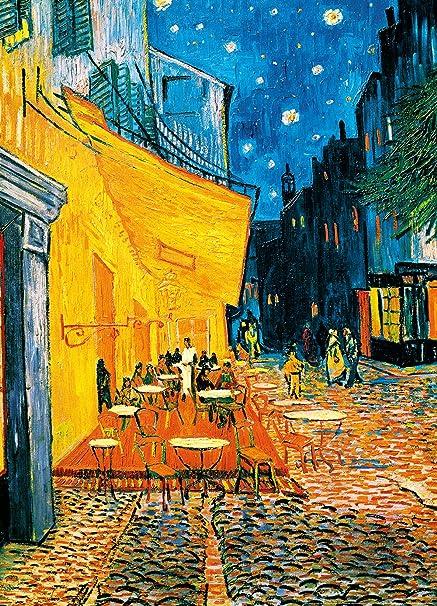 Amazon Com Komar Dm420 Ideal Decor Terrasse De Cafe La Nuit