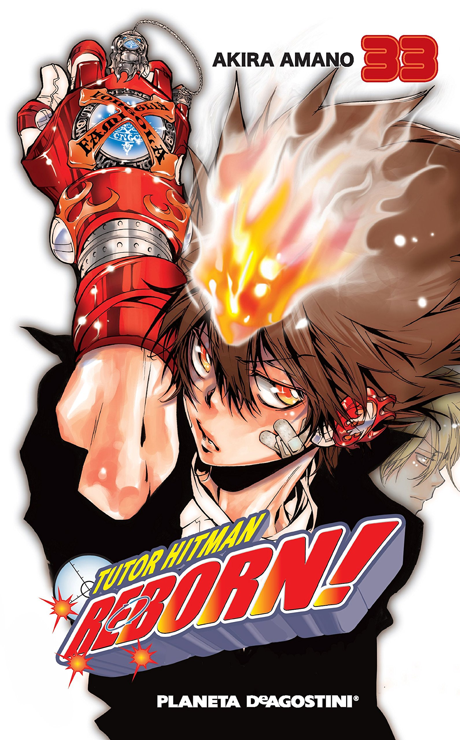 Tutor Hitman Reborn Nº 33 42 Manga Shonen Spanish Edition