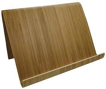 khevga Kochbuchständer Tablet-Ständer Tablet-Halterung Buchstütze Bambus  Holz