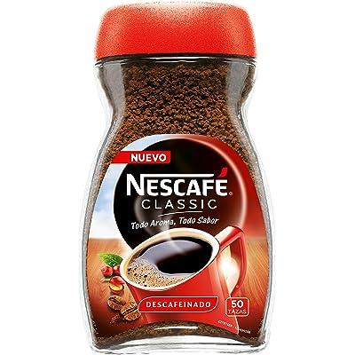 Nescafé Classic Descafeinado - Café Soluble - Pack de 3 x100 g