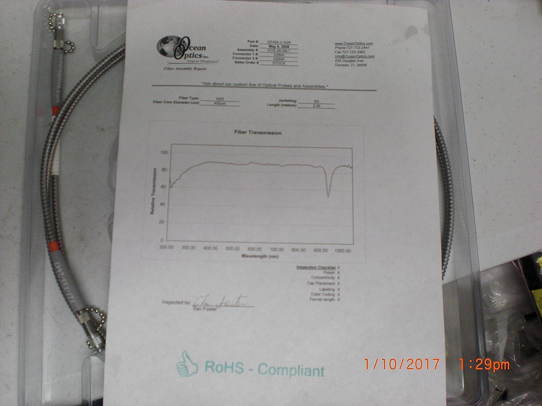Ocean Optics 455 Um Fiber Extreme Solarization 91 Probe Wiring Diagram Resistant 2 M Industrial Scientific