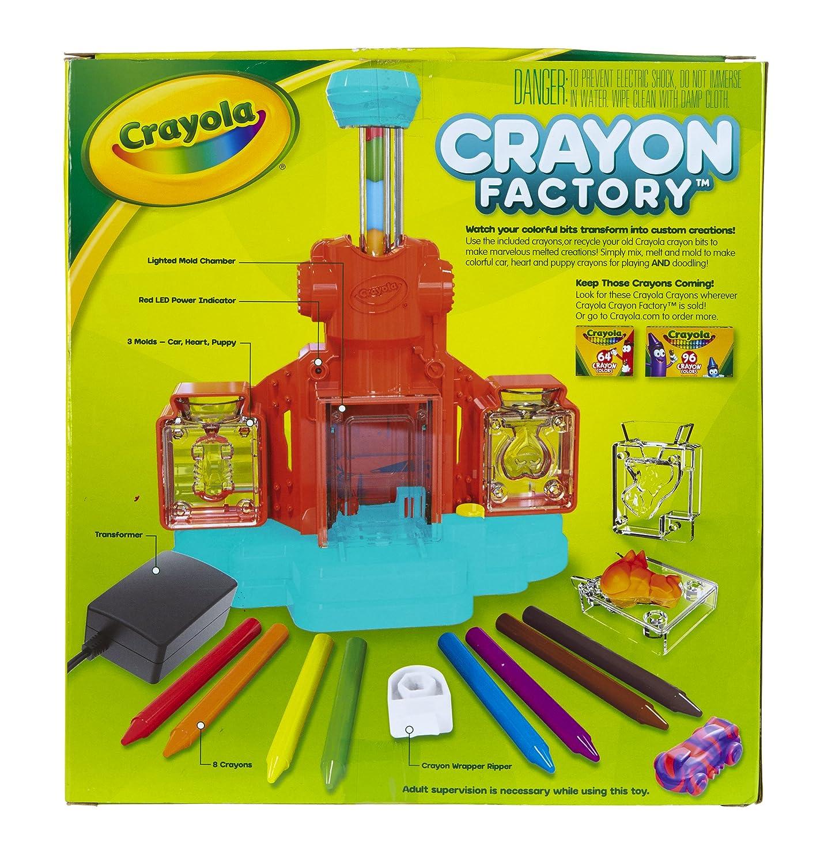 Crayon Rings Amazoncom Crayola Crayon Factory Art Tool Electronic Melt