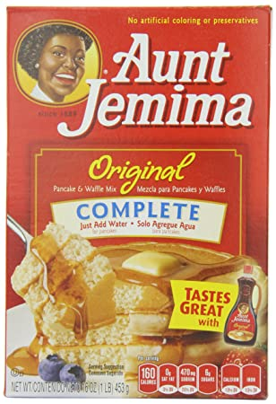 Amazon.com : Aunt Jemima Pancake & Waffle Mix, Original, 16-Ounce (Pack of 12) : Pancake And Waffle Mixes : Grocery & Gourmet Food