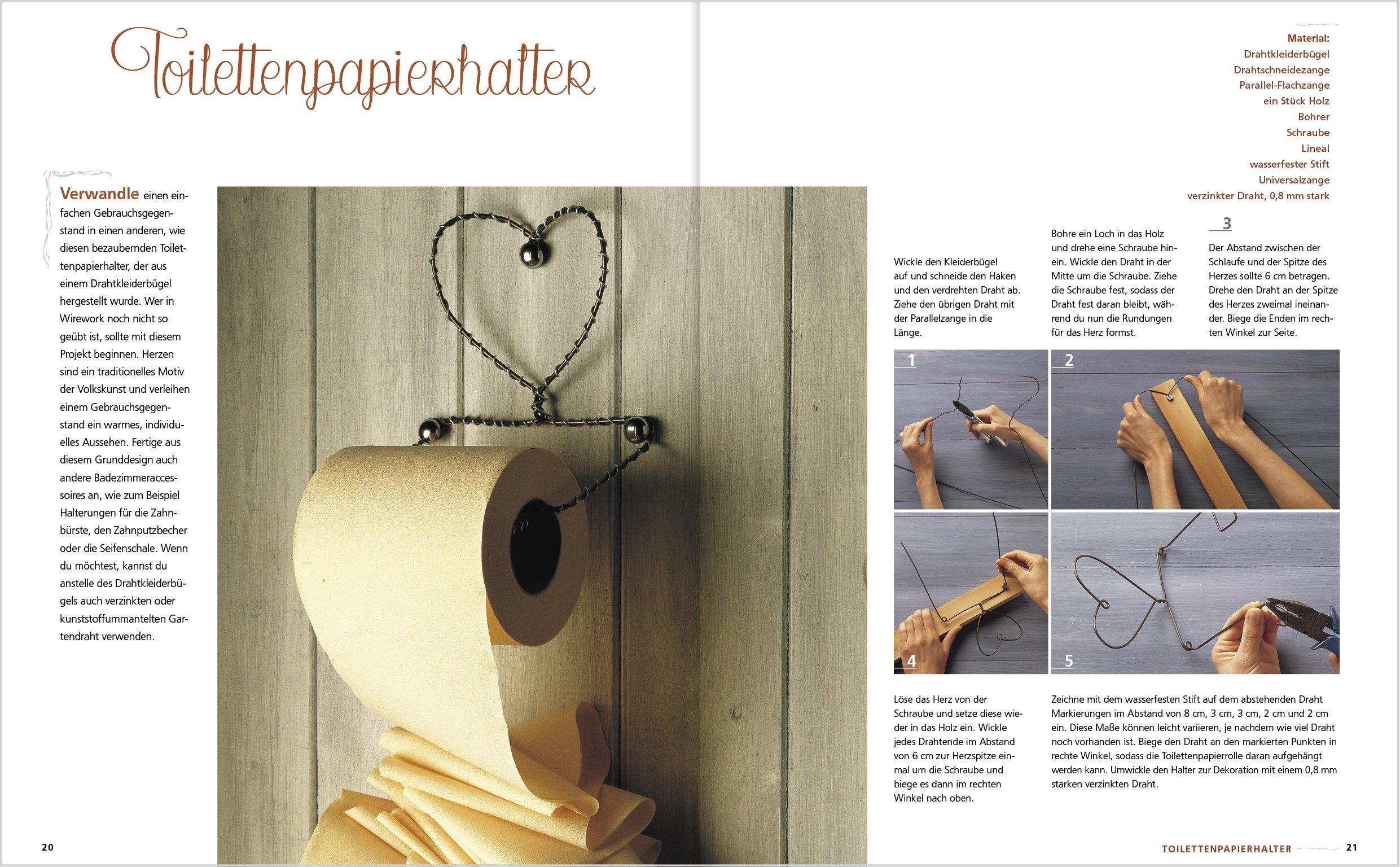 Basteln mit Draht: Schritt für schritt Kupferdraht & Co. richtig ...