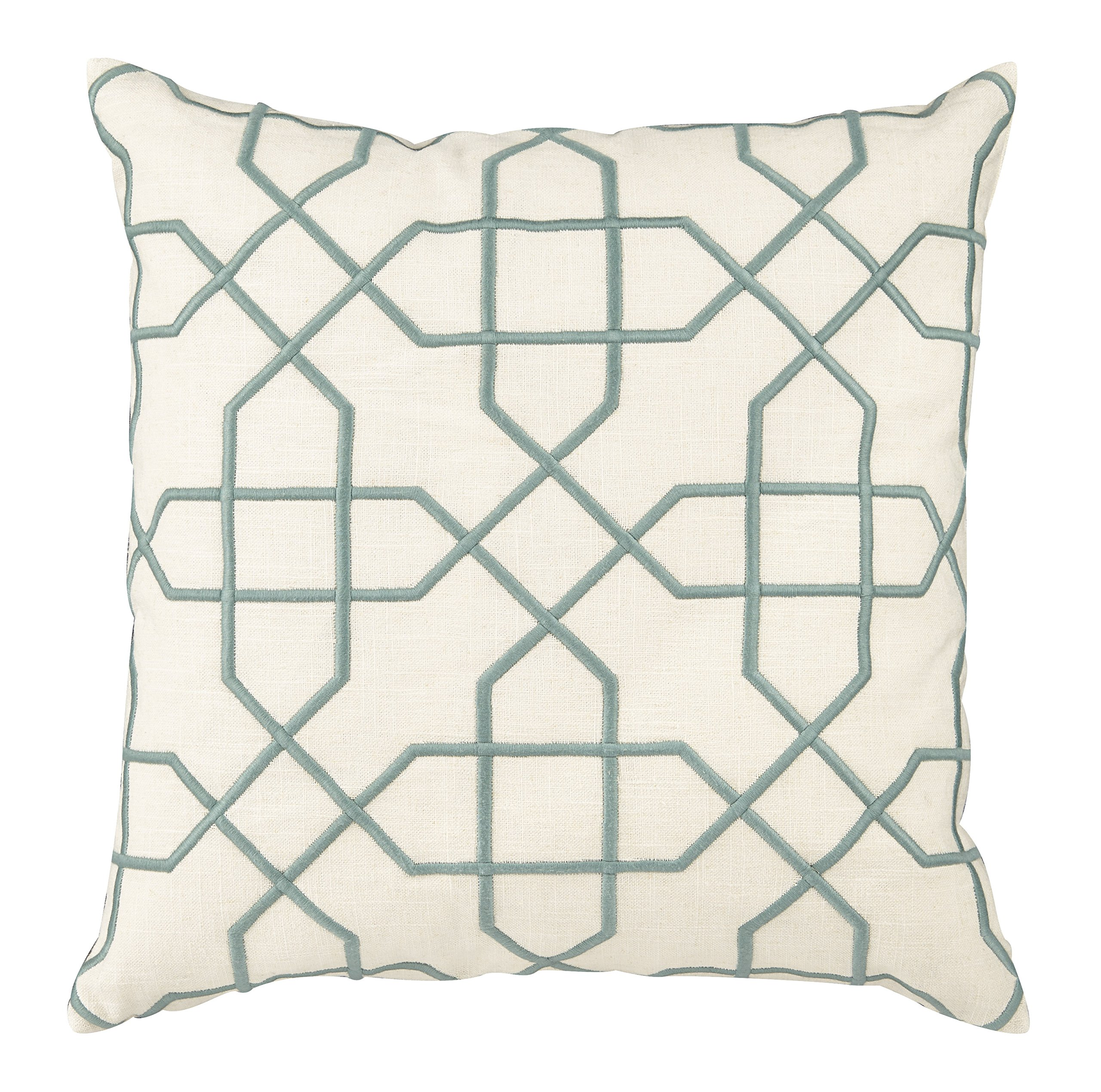 Universal Furniture P20-7002 Vintage Mint Trellis Accent Pillow