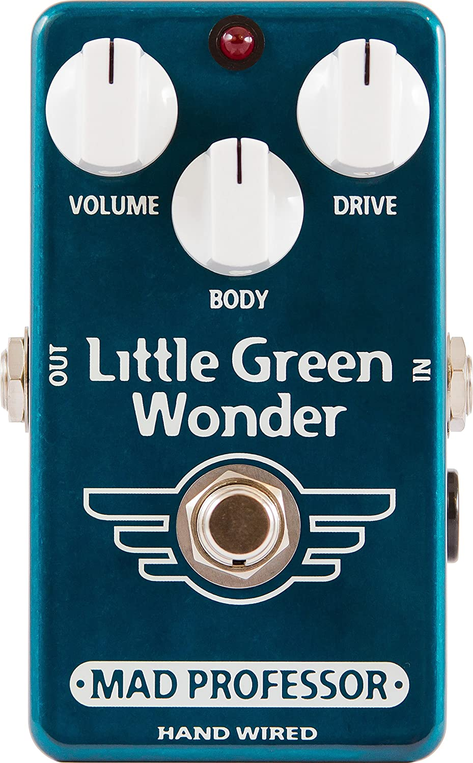 Mad Professor Little Green Wonder · Pedal guitarra eléctrica: Amazon.es: Instrumentos musicales