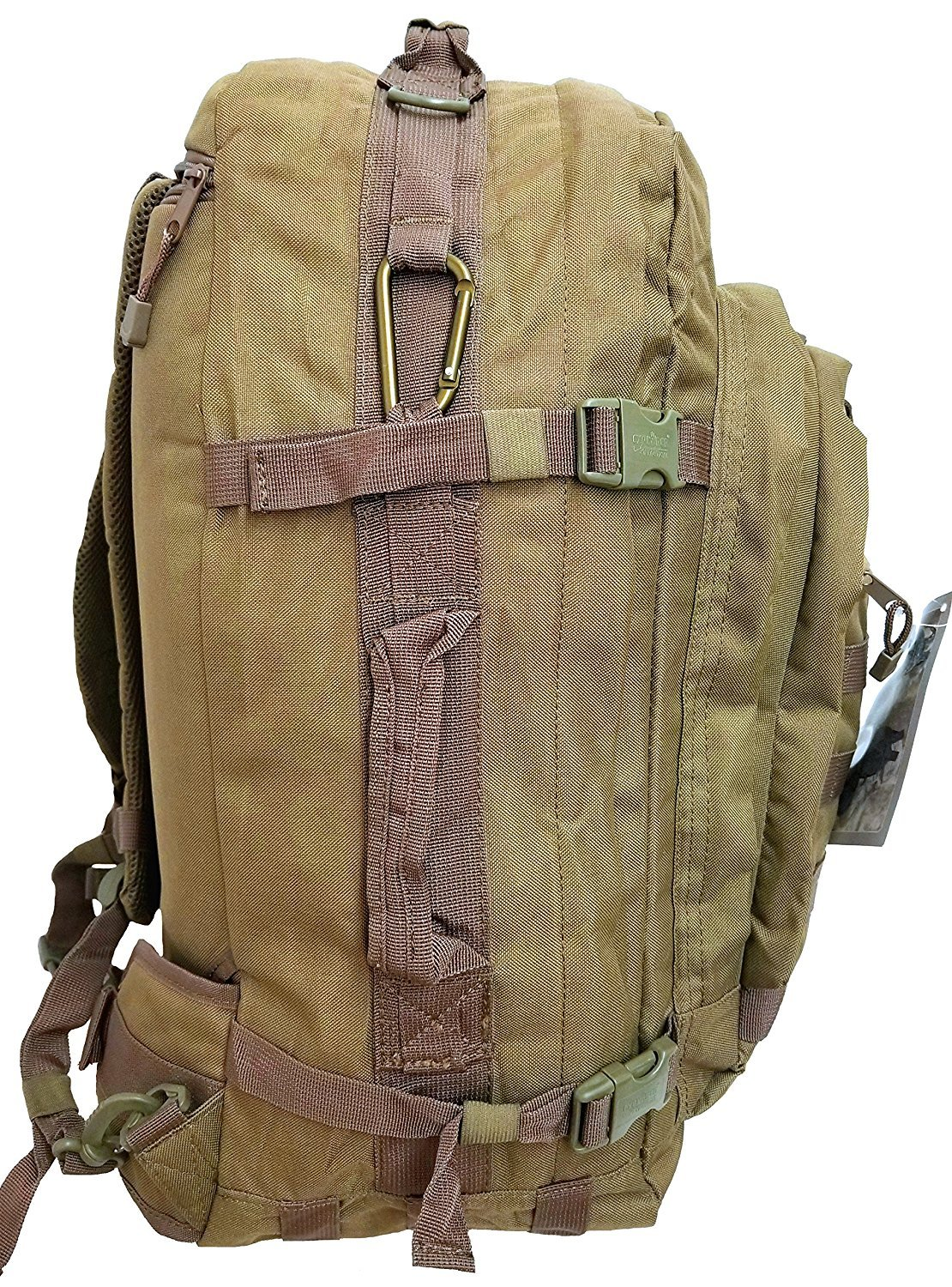 Every Day Carry 3-Day Tactical Pack EDC Backpack with Molle Webbing