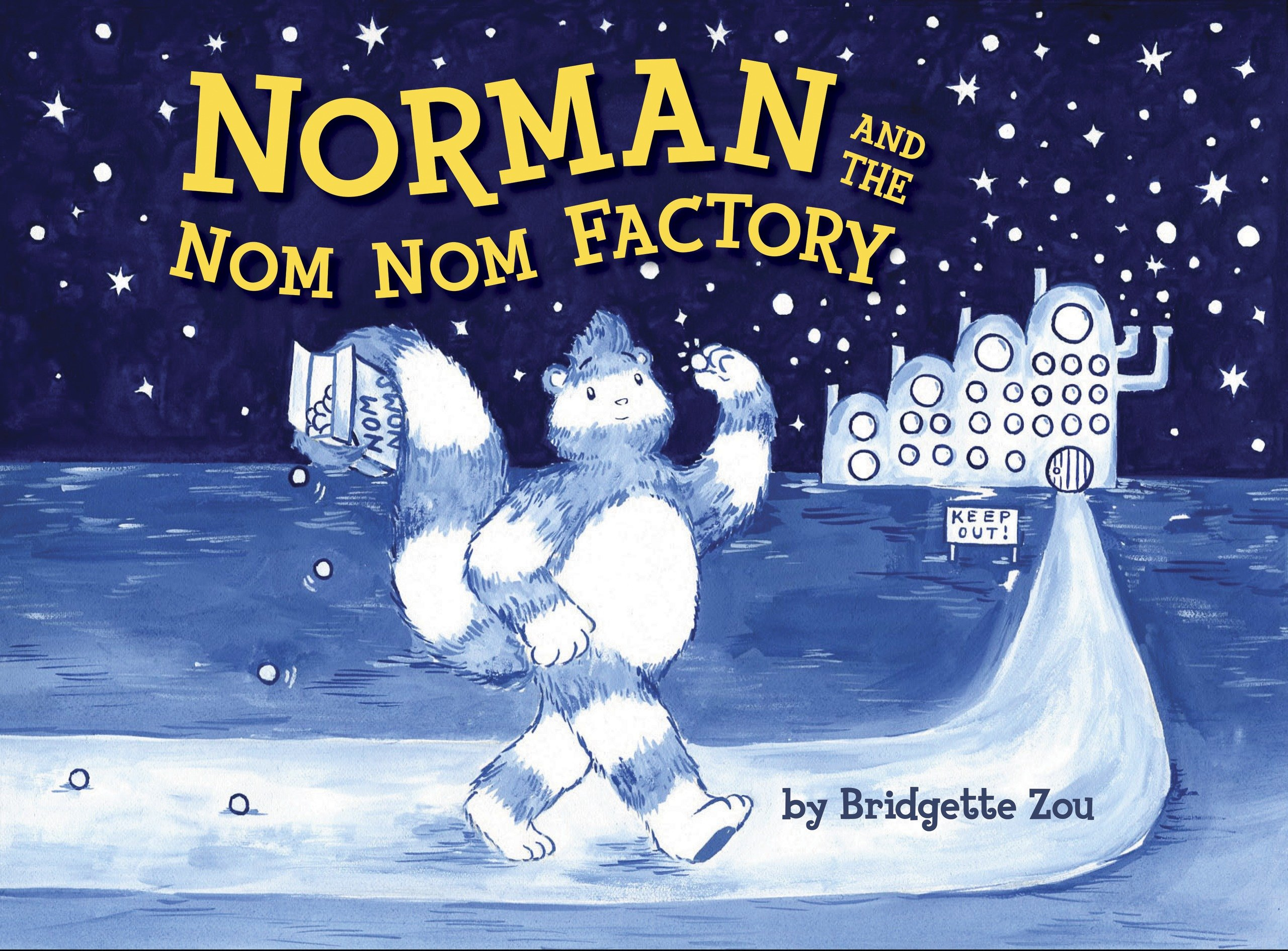 Norman and the Nom Nom Factory Brid te Zou Amazon