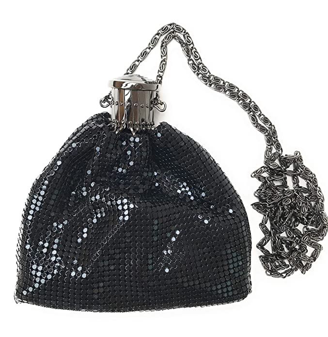 1920s Style Purses, Flapper Bags, Handbags Vintage Evening Clutch Purse Metal Mesh Gatsby Bag for Cocktail Party Prom Wedding Banquet $23.80 AT vintagedancer.com