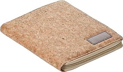Exclusivo estuche de corcho para lápices, con bloc de notas, estuche para lápices: Amazon.es: Oficina y papelería