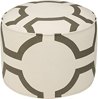 Prime Amazon Com Kas Oriental Rugs Tropica Pouf 18 X 18 X 18 Frankydiablos Diy Chair Ideas Frankydiabloscom