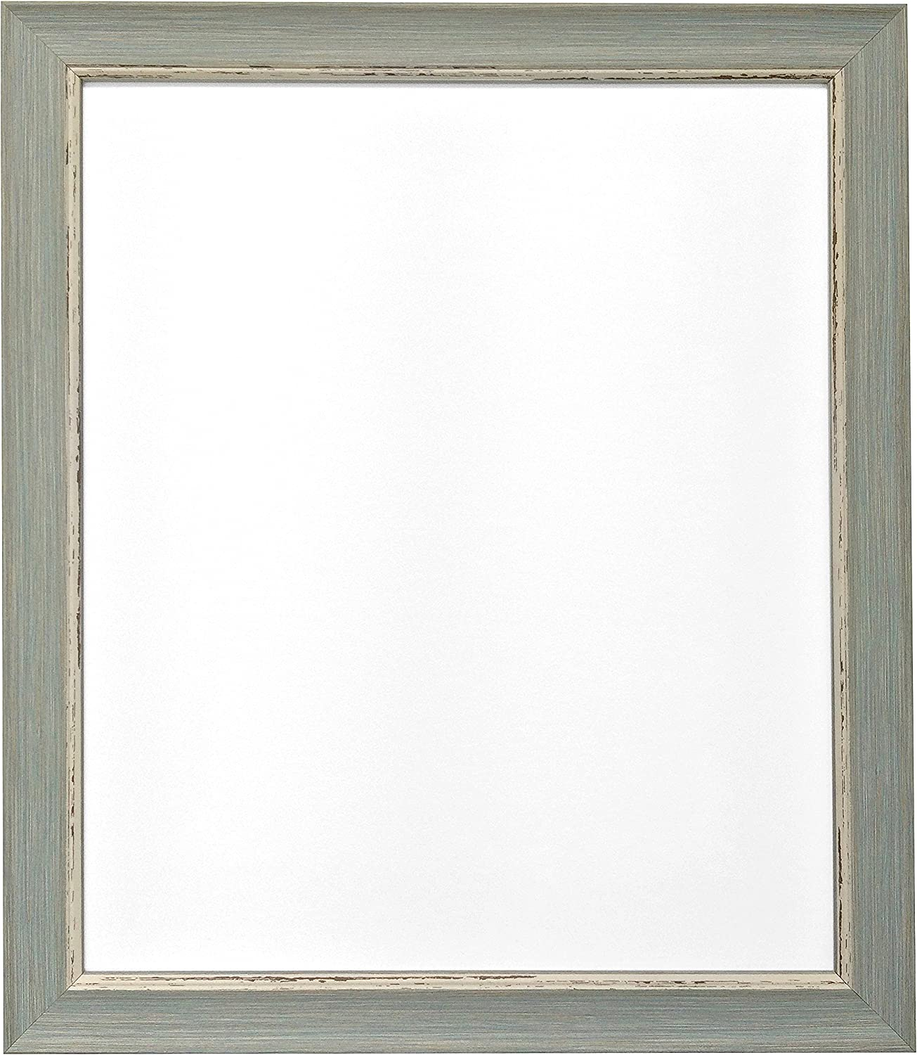 Plastic Glass FRAMES BY POST Distressed White Picture Photo Frame A2