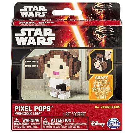 Amazon Com Star Wars Pixel Pops Princess Leia Toys Games