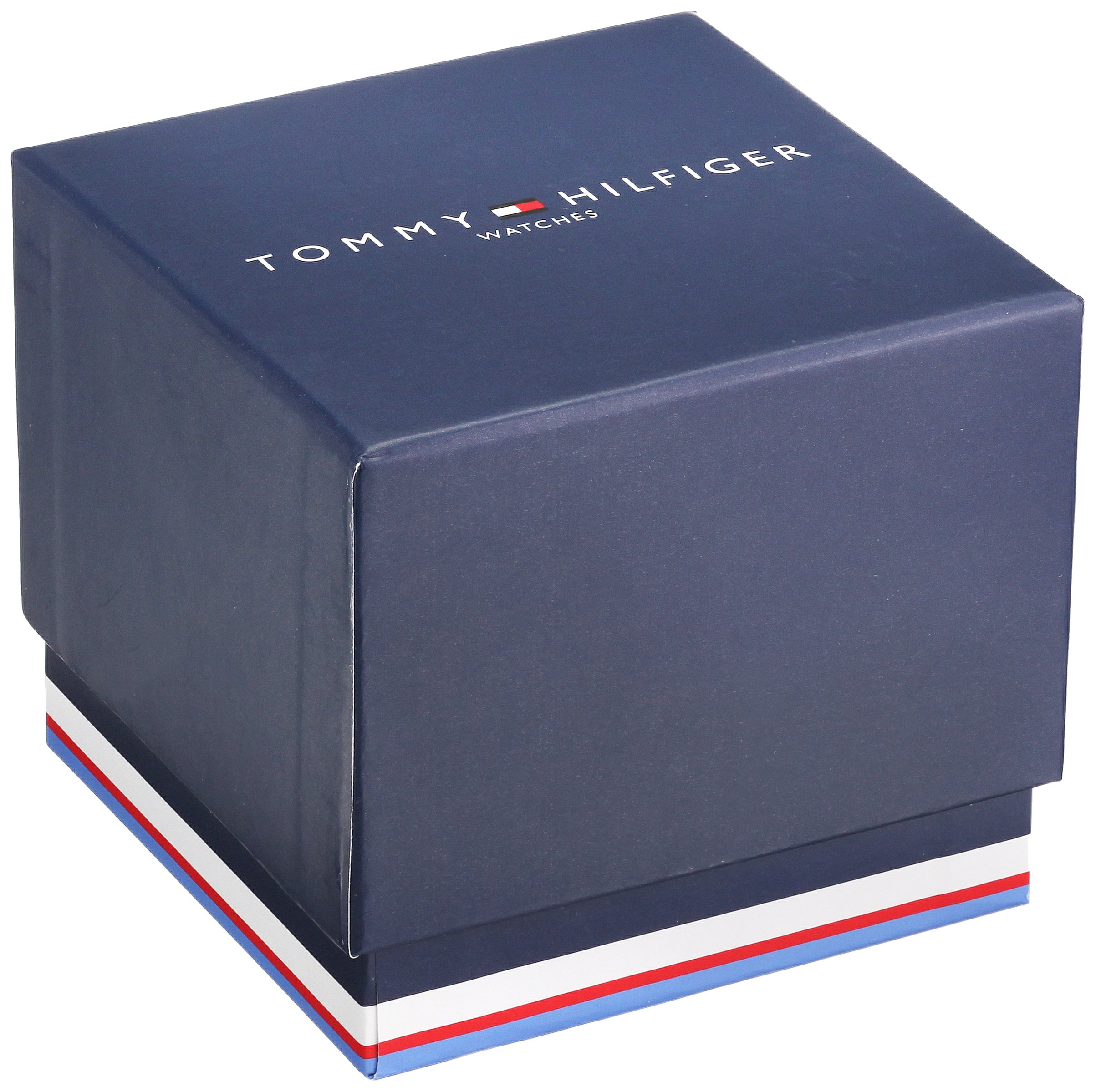 Tommy Hilfiger Men's 'COOL SPORT' Quartz Stainless Steel and Silicone Casual Watch, Color:Blue (Model: 1791350) by Tommy Hilfiger (Image #3)