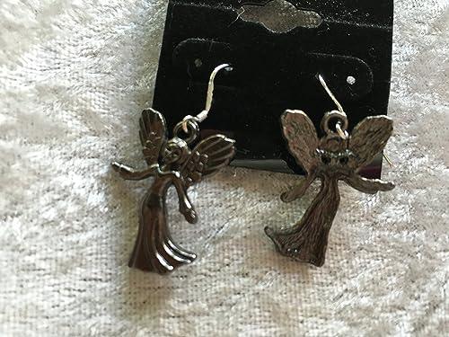 Silvertone 3D Teapot Charm Dangle Earrings with Sterling Silver Hooks