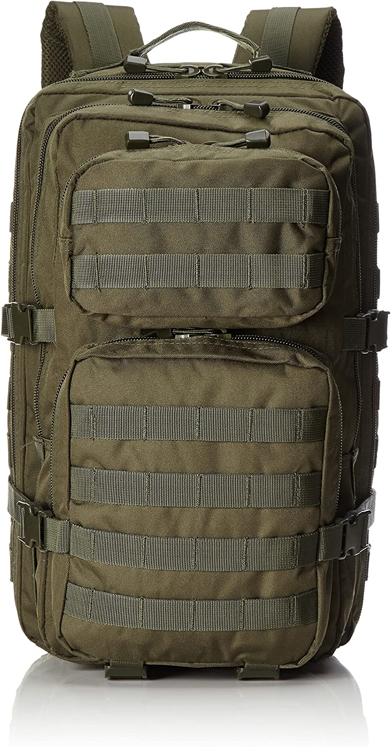 Mil-Tec MOLLE Tactical Pack Olive, Large