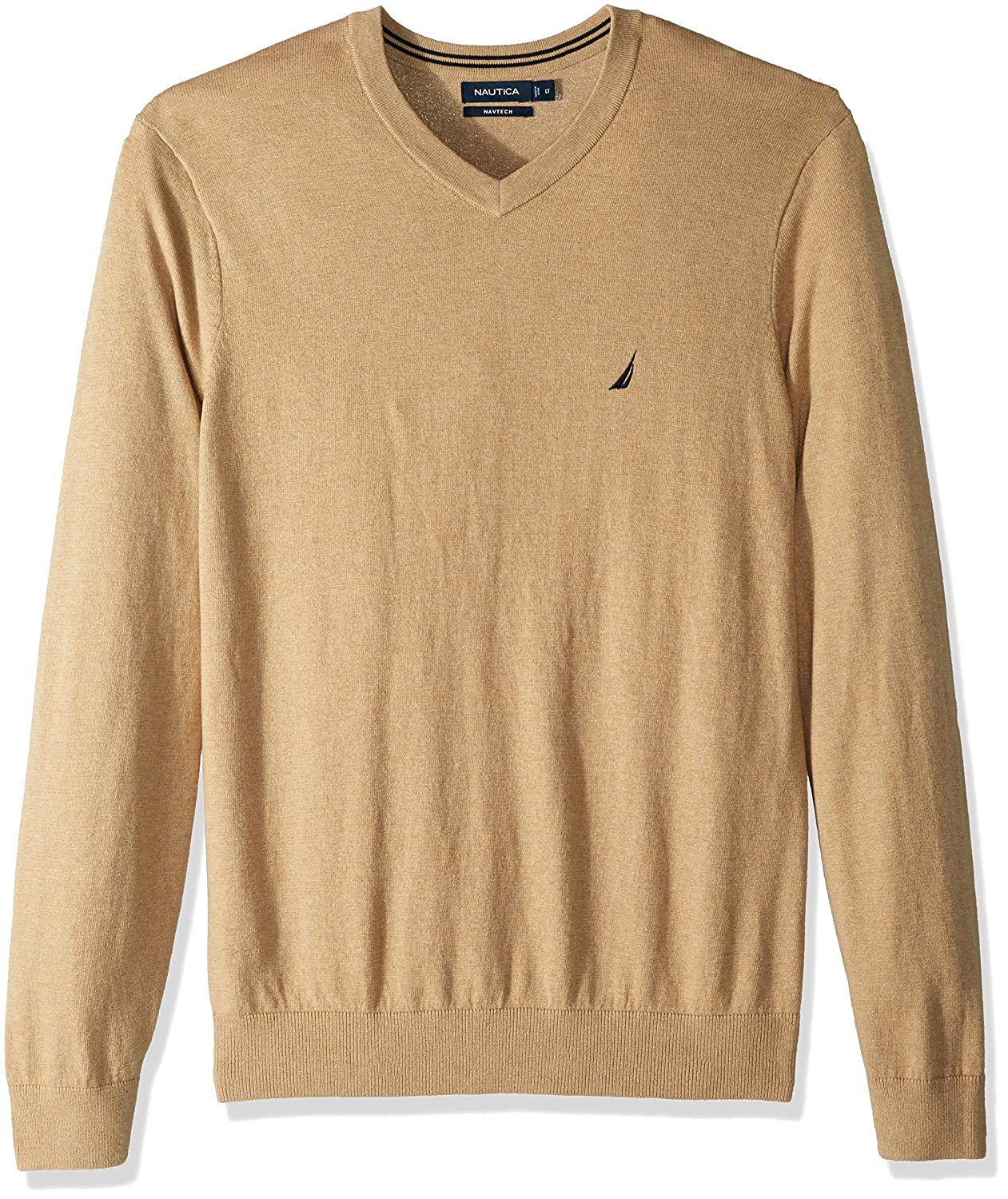 Coastal Camel Heather XL Nautica Homme N83100 Sweat
