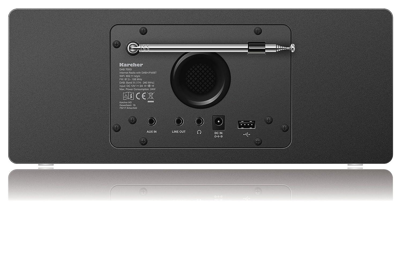 Karcher Dab 7000i Internetradio Dab Ukw Rds Wlan Bluetooth