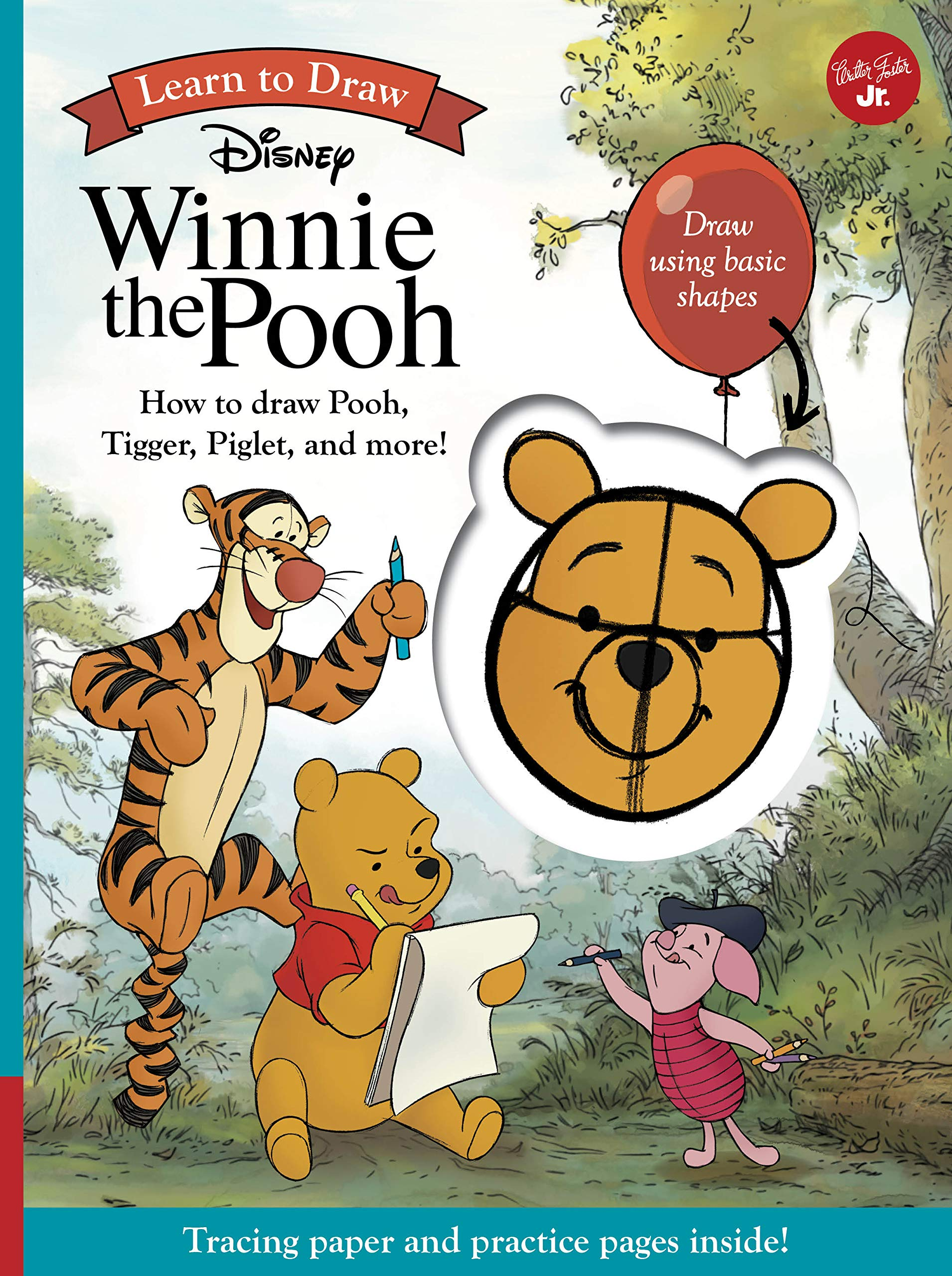 Learn To Draw Disney Winnie The Pooh How To Draw Pooh Tigger