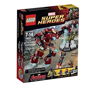 Best LEGO Super Heroes The Hulk Buster Smash - 76031 sets for boys