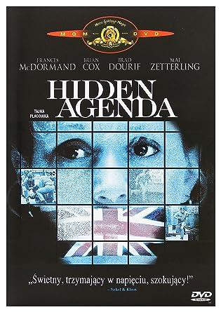Hidden Agenda Region 2 Audio español. Subtítulos en español ...