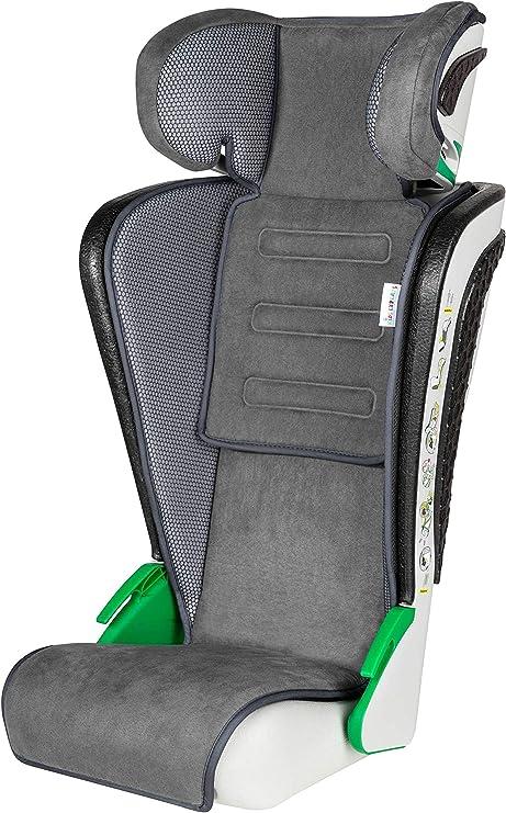 Walser Auto Kindersitz Noemi Klappbarer Kinderautositz Mit Höhenverstellbarer Kopfstütze Ece R129 Geprüft Mitwachsend 3 8 Jahre Anthrazit Auto